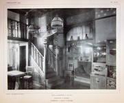 Dieweg 71, Uccle, salle à manger (©L'Emulation 1909, planche XLIX)