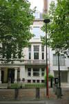 Hôtel Katz, Avenue Molière 123, Forest, détail de l'élévation principale (© APEB, photo 2016)