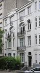 Avenue Molière 109-111, Forest, façade vers la place C. Meunier (© APEB, photo 2016)