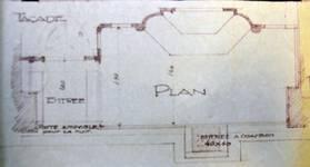 Etam, Rue Sainte-Catherine 43, Bruxelles Pentagone, plan du rez-de-chaussée, AVB/TP 46215