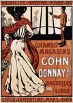 Magasins Cohn-Donnay & Cie, Rue Neuve 44, Bruxelles, affiche (© collection APEB)