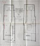À la Mort Subite, Rue Montagne aux Herbes Potagères 5-7, Bruxelles, plan des niveaux avant transformation, AVB/TP 5881 (1910)