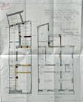 Magasin Pathé Kok, Boulevard Adolphe Max 146-148, Bruxelles, plan des niveaux, AVB/TP 18147 (1912)