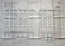 Cie d'assurance Vie Utrecht, Rue de la Loi 13-15, Bruxelles, projet de transformation, élévation des façades, AVB/TP 33739 (1927)