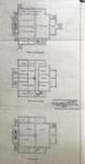 Koninklijke Baan 239-241, Koksijde, grondplan bouwlagen (© Fondation CIVA Stichting/AAM, Brussels /Paul Hamesse)