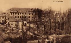 Rue Vergote 34, Woluwe-Saint-Lambert, vue depuis l'intérieur d'îlot (Musée communal de Woluwe-Saint-Lambert, collection de cartes postales Daniel Frankignoul)