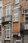 Avenue des Rogations 39-43, Woluwe-Saint-Lambert, logette et balcon (© SPRB-BDU, photo 2011)