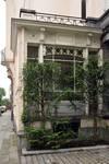 Rue Vergote 28, Woluwe-Saint-Lambert, fenêtre de gauche de l'avant-corps (© SPRB-BDU, photo 2011)