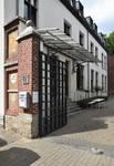 Ateliers Ets Jules De Waele, Rue Saint-Hubert 17, Woluwe-Saint-Pierre, entrée (© APEB, photo 2017)
