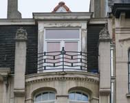 Rue Emmanuel Van Driessche 40-42, Ixelles, balcon (© APEB, photo 2017)