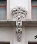Pathé Palace, Boulevard Anspach 85, Bruxelles, détail de la façade rue Jules Van Praet 28  ( © CM, photo 2020)
