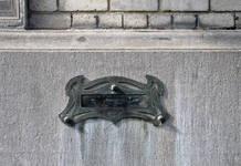 Keizer Karelstraat 103, Brussel Uitbreiding Oost, brievenbus (© CM, foto 2017)