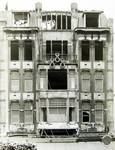 Albert Ameke, Place Fontainas 9-15, Bruxelles, façade lors de sa démolition en 1970 (© Fondation CIVA Stichting/AAM, Brussels /Paul Hamesse)