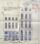 Cinéma Agora, Rue de la Colline 18-22, Bruxelles, entrée rue de la Colline, élévation de la façade, AVB/TP 41668 (1921)