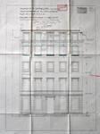 Cie d'assurance Vie Utrecht, Rue de la Loi 13-15, Bruxelles, projet de transformation, élévation façade boulevard du Régent, AVB/TP 33739 (1927)