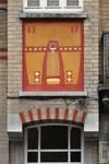 Avenue des Rogations 39-43, Woluwe-Saint-Lambert, allège de la logette (© SPRB-BDU, photo 2011)
