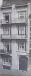 Grande rue au Bois 82, Schaerbeek, photographie ancienne de la façade (© Fondation CIVA Stichting/AAM, Brussels /Paul Hamesse)