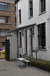 Ateliers Ets Jules De Waele, Rue Saint-Hubert 17, Woluwe-Saint-Pierre, marquise (© APEB, photo 2017)