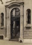 Avenue Jef Lambeaux 25, Saint-Gilles, porte (© Fondation CIVA Stichting/AAM, Brussels /Paul Hamesse)