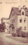 Sanatorium populaire de Waterloo - La Hulpe, Chemin du Sanatorium, La Hulpe, carte postale ancienne, collection particulière
