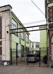 Ets Van der Elst, Charles Demeerstraat 1-3 | Dieudonné Lefèvrestraat 75, Brussel Laken, één ingangsdeur van de Charles Demeerstraat (© APEB, foto 2017)