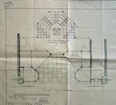 Alfred, Rue Neuve 39, Bruxelles, plan de la devanture, AVB/TP 35469 (1928)