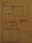 Rue Vergote 34, Woluwe-Saint-Lambert, plan du rez-de-chaussée, ACWSL/Urb. 1414 (1904)