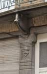 Avenue des Rogations 39-43, Woluwe-Saint-Lambert, détail du rez-de-chaussée du n°41 (© SPRB-BDU, photo 2011)