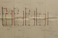 Avenue des Croix de Feu 295, Bruxelles Laeken, plan des niveaux, AVB/TP 50447