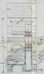 Rue Charles Quint 103, Bruxelles Extension Est, élévation de la façade avant, AVB/TP 8842 (1898)