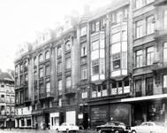 Rue du Lombard 5-9, Bruxelles, photographie de la façade avant, AVB/TP 3969 (1908)