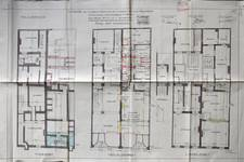 Liétart, Rue Neuve 63-63a-67, Bruxelles, plan des niveaux, AVB/TP 32530 (1926)