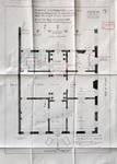 Cie d'assurance Vie Utrecht, Rue de la Loi 13-15, Bruxelles, projet de transformation, plan du rez-de-chaussée, AVB/TP 33739 (1927)