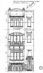 Rue Champ du Roi 104, Etterbeek, élévation, ACEtt/TP 1812 (1909)