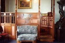 Hôtel Cohn-Donnay, Rue Royale 316, Saint-Josse-ten-Noode, premier étage, salle de récitation ( © APEB, photo 2013)