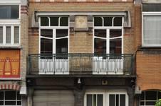 Avenue des Rogations 39-43, Woluwe-Saint-Lambert, balcon du premier étage du n°41 (© SPRB-BDU, photo 2011)