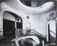 Albert Hall, Chaussée d'Ixelles 16 | Chaussée de Wavre 12, Ixelles, vue ancienne du palier du premier étage (© Fondation CIVA Stichting/AAM, Brussels/ Paul Hamesse)