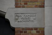 Union commerciale des Glaceries belges, Rue de la Source 86, Saint-Gilles, signature (© APEB, photo 2017)