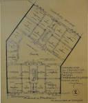 Avenue Seghers 111-113 |avenue du Panthéon 69-69A, Koekelberg, plan du rez-de-chaussée (© Fondation CIVA Stichting/AAM, Brussels/ Paul Hamesse)