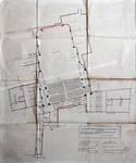 Cinéma Agora, Rue de la Colline 18-22, Bruxelles, entrée rue de la Colline, plan du premier balcon, AVB/TP 41668 (1921)