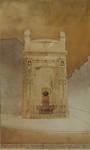 Projet de monument funéraire à Paul Hankar, 1903 (© Fondation CIVA Stichting/AAM, Brussels /Paul Hamesse)