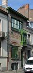 Atelierwoning schilder Arthur Rogiers, rue Charles Quint 103, Brussel, 1898 (© APEB, foto 2017)